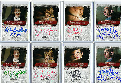 American Horror Story Asylum - Autograph Costume Prop And Sketch Card Selection
