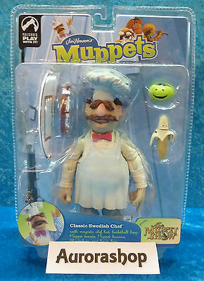Palisades Toys Figur The Swedish Chef The Muppets Jim Hensons Serie 9 neu + ovp