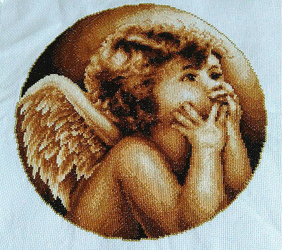 "2016 New Finished handmade Cross Stitch""BABY ANGEL""Wall Decor gifts"