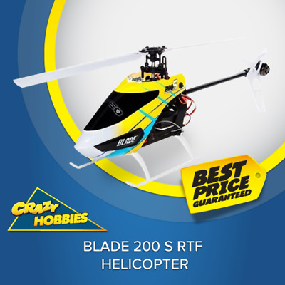 Blade 200 S RTF MODE 2 HELICOPTER #BLH2600 CRAZY HOBBIES