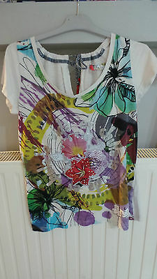 tee shirt desigual femme taille M