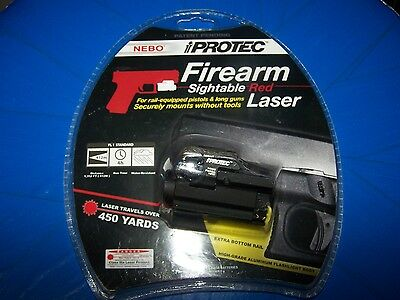 Nebo Protec 5600 Red Laser Sightable Firearm Laser