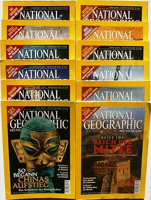 National Geographic Jahrgang 2003 ( 1 2 3 4 5 6 7 8 9 10 11 12 ) in Z1 bis Z2