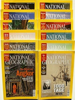 National Geographic Jahrgang 2009 ( 1 2 3 4 5 6 7 8 9 10 11 12 ) in Z1 bis Z2