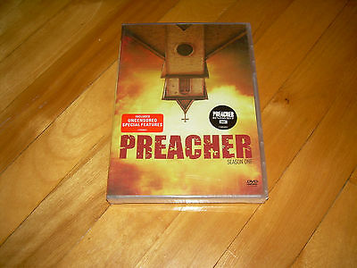 Complete First Season 1 One Sealed NEW PREACHER (DVD, 2016) AMC