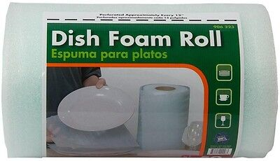 1/16x12 in.x50-ft. Dish Foam Roll Wrap Protector For packing Dishes Glassware