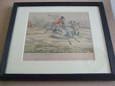 Sporting Notions Good Fellows Hunting Hand Coloured Engraving Prints Henry Alken