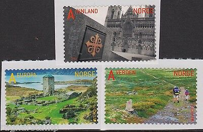 2012 NORWAY Tourist stamps  NK 1815-17  MNH