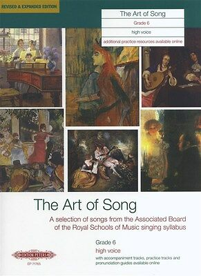 Art Of Song Grade 6 (High Voice) - Revised Edition. Sheet Music