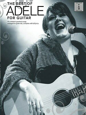 Adele: The Best Of (Guitar Tab). Sheet Music