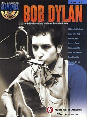 Harmonica Play-Along Volume 12: Bob Dylan. Sheet Music, CD