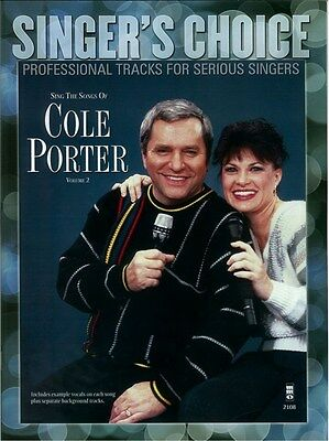 Singer's Choice: Sing The Songs Of Cole Porter - Volum.... Voice Sheet Music, CD