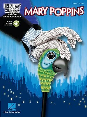 Broadway Singer's Edition: Mary Poppins (Book/O.... Voice Sheet Music, Downloads