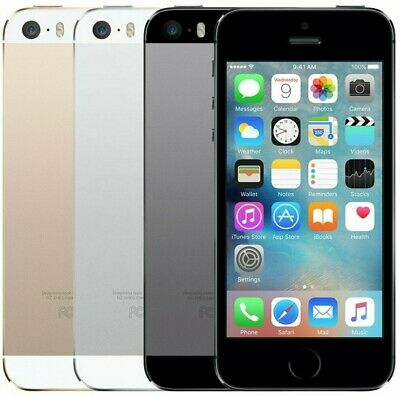 NEW Apple iPhone 5S 16/32GB GSM Factory Unlocked Gray Gold Silver LTE Smartphone