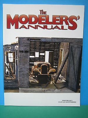 The Modelers Annual ~ Winter 2011   Excellent Us Railway Book   See Pics