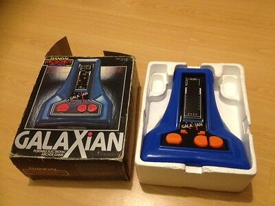 Vintage/Retro Bandai Galaxian 1980s Collectible Hand-Held Electronic Game GWO
