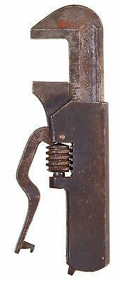 Billings Patent Lever Handle Nut Wrench-Patented February 22, 1898 - Rare & Nice