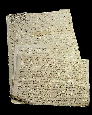 LOT OF THREE OLD DOCUMENTS  1720s