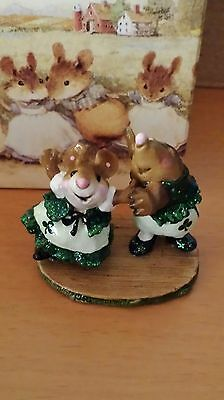"""Wee Forest Folk, MMO-2, """"Do-si-do"""" Limited Edition St. Patrick's Day Mint"""