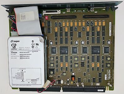 Nortel NT6R16AA RLSE08 Voicemail Card