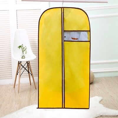 yellow Home Storage Protect Cover Travel Bag for Garment Suit Dress  Jacket