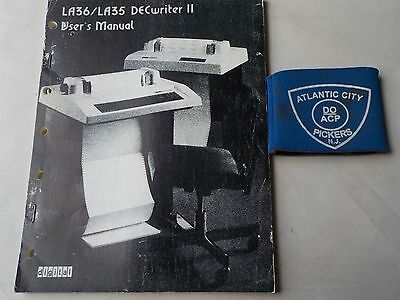 Digital La36/la35 Decwriter Ii Users Manual