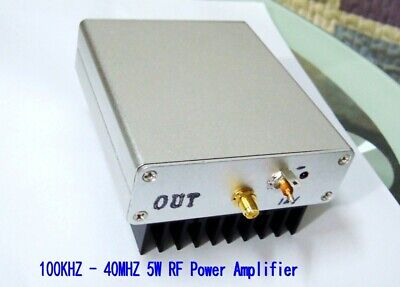 2016 New 100kHz - 40MHz 5W long-wave / AM / high-frequency RF power amplifier