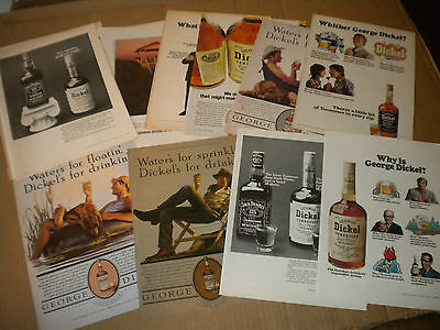 22 George Dickel Whisky Ads 1980's