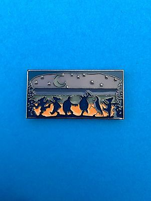 Glow in Dark Moondance Grateful Dead Pin