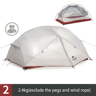Naturehike Camping 2Person Double-layer Waterproof Solo Camping Tent 4 season
