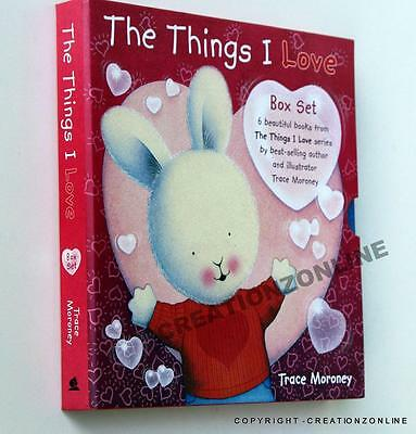 The Things I Love Box Set by Trace Moroney Board Books Book