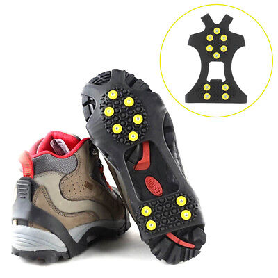 Snow cleats Anti-Slip overshoes Studded Ice Traction shoe covers Spike DP
