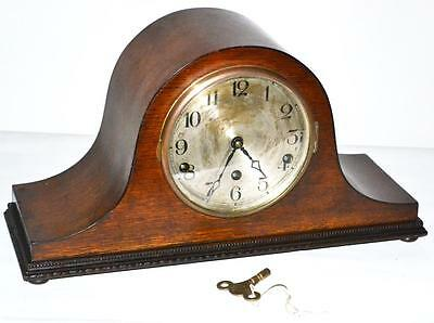 Circa 1920's Napoleon Hat Westminster Chime Mantel Clock [PL2780]