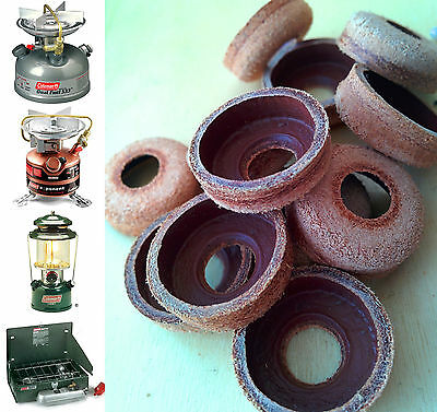 Coleman Leather Pump Cup - Stoves & Lanterns, Camping Fishing etc (Seal, Washer)