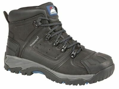 Himalayan 5206 black S3 SRC safety boot & midsole & external scuff-cap size 4-15