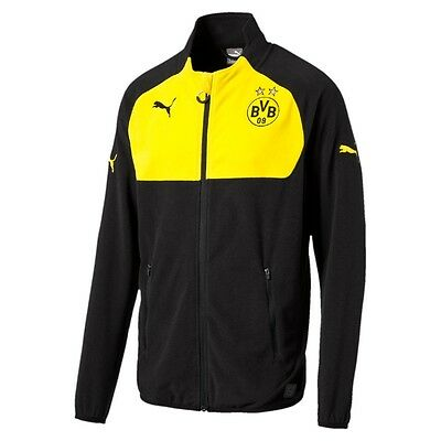 Puma BVB Full Zip Fleece Kinder Borussia Dortmund 2016/17