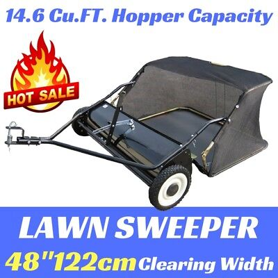 "New LAWN SWEEPER 48"" SUIT RIDE ON LAWN MOWER WITH WHEELS"