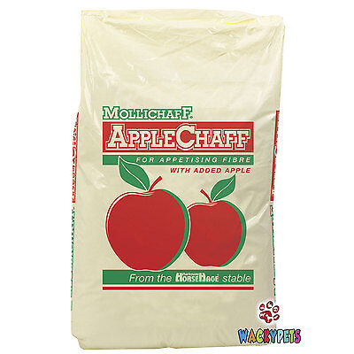 Mollichaff Applechaff 12.5kg x 1 or 2. Horse / Pony Food for Fussy Eaters