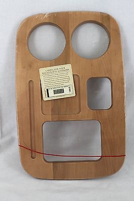 Longaberger Warm Brown Road Trip Lid For Small Gathering Basket - NEW IN PLASTIC