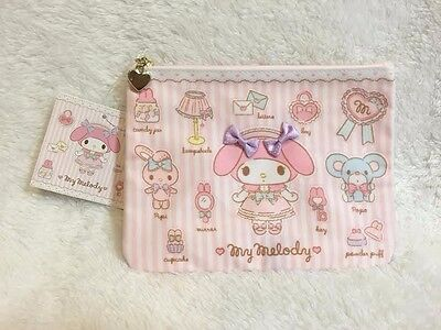 My Melody Flat Pouch SANRIO from Japan KAWAII