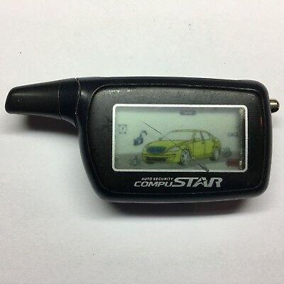 Compustar 2WSHLCDR-703 Keyless Entry Aftermarket Remote LCD FREE PROGRAMMING