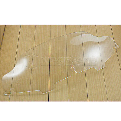 """6"""" Clear Windscreen Windshield For Harley Electra Street Glide Touring 96-12 13"""