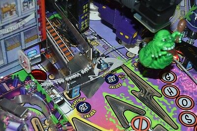 Ghostbusters Pinball Airball Protector with artworkand Key fob