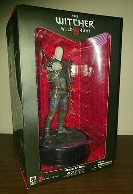 The Witcher 3 Geralt Collector's Statue Figurine Figure New Sealed