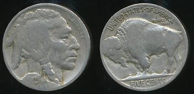 United States, 1929 5 Cents, Buffalo Nickel - Very Good