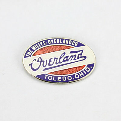 The Willys Overland Jeep Logo US Car Button Hat Pin Anstecker Anstecknadel Badge