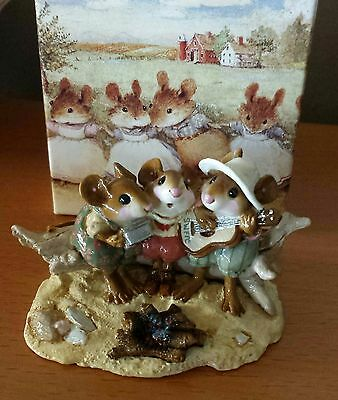 """Wee Forest Folk M-297 """"A Wee Folk Song""""  Mouse Social SPECIAL EDITION Mint"""