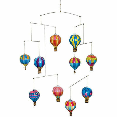 Hot Air Balloon Mobile, Schylling, Tinplate Toy