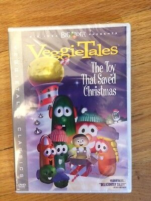 Veggie Tales The Toy That Saved Christmas DVD Movie