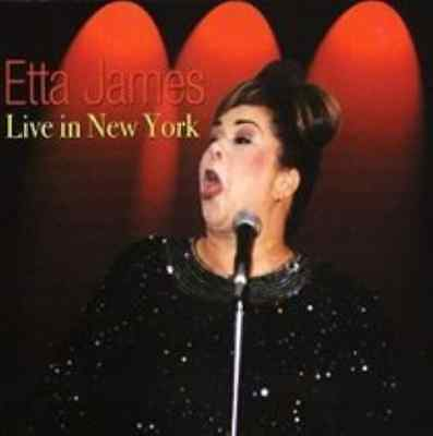 Etta James-Live in New York  (US IMPORT)  CD NEW